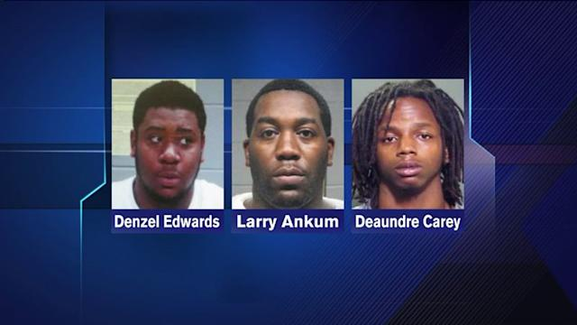 3 Charged in May murder of 19-year-old student