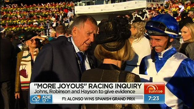 Key players to appear at More Joyous inquiry