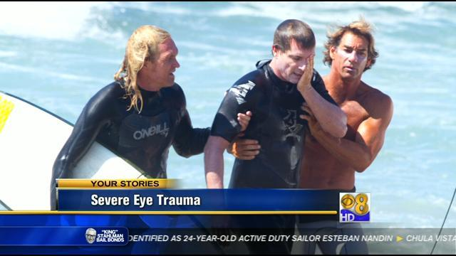 Hope is in sight for man hurt in surfing accident