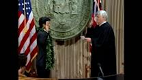 Tsutsui sworn in as Lt. Gov.