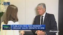 Advertisers are cutting costs: Publicis CEO