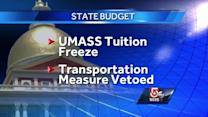 Gov. Deval Patrick signs budget, but vetoes transportation, local aid funds