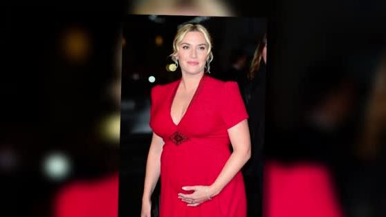 Pregnant Kate Winslet Shows Off Her Bump at Labor Day Premiere
