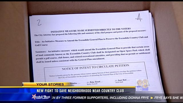 New fight to save neighborhood near country club