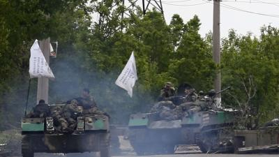 Ukraine Troops Move on Pro-Russian Militants
