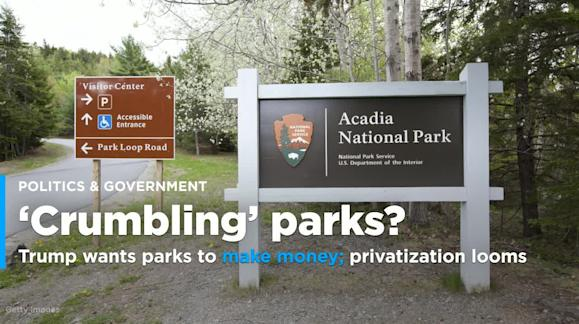 Trump wants the national parks to generate revenue