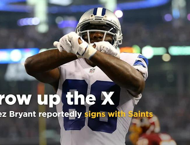 Wr Dez Bryant Will Reportedly Sign With Super Bowl Contending Saints