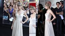 Taylor Swift Wows in Cream at the ARIA Awards