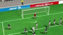 3D Goal: Albiol scores for Real Madrid