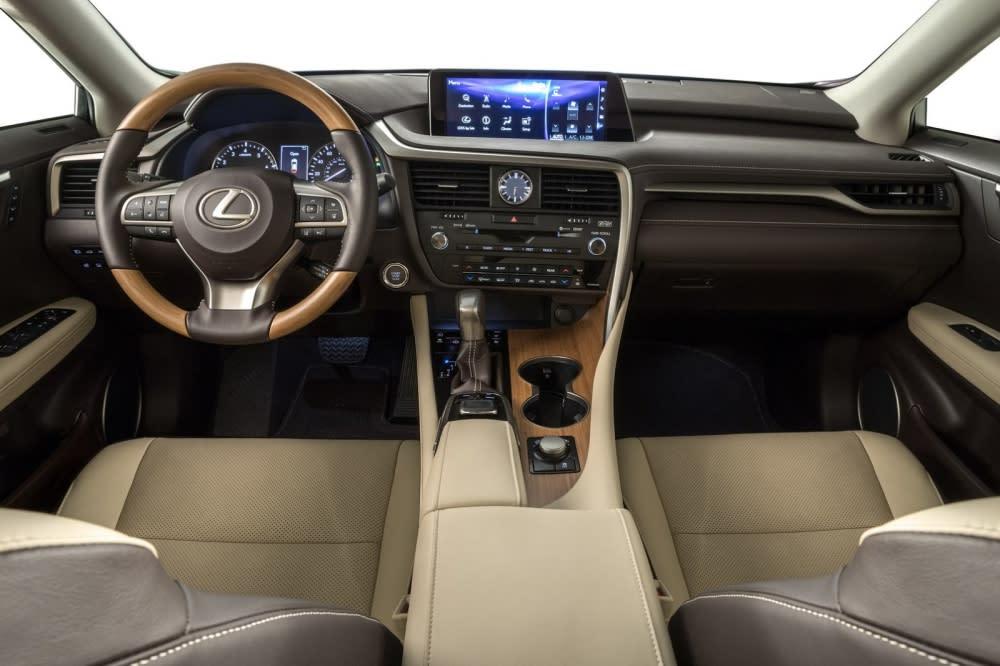 全新Lexus RX 350L、RX 450hL 2017洛杉磯車展全球首發