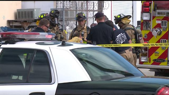 Chemical Explosion Forces Businesses To Evcuate