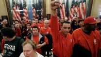 Labor unions take a hit in Michigan
