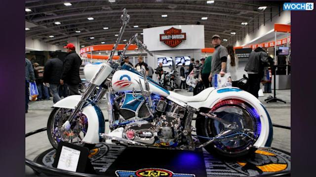 Pope To Sell His Harley For Charity
