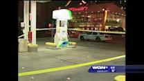 Security guard shoots at man at River North gas station