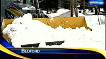 Towns prepare for more snowfall