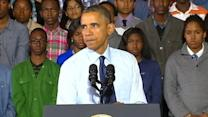 President Obama Pushes Hard Work, Opportunity at NYC School