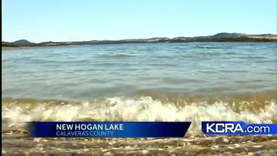 Swimmers warned of possible bacteria at New Hogan Lake