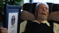 At 111, oldest living man says he's still thinking about what to achieve next