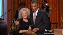Person of the Week: Folk Crooner Carole King Honored by Obama
