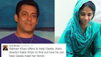 Salman Khan turns Bajrangi Bhaijaan for Indian Geeta struck in Pakistan