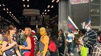 Day One at Comic Con