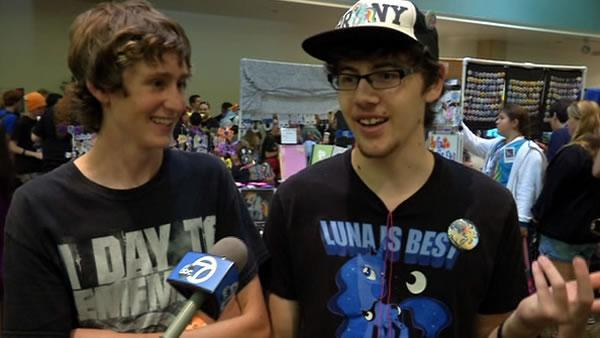 Men called Bronies are big fans of 'My Little Pony'