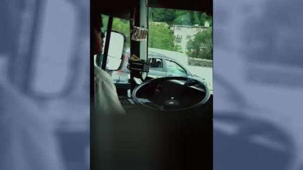 GRAPHIC CONTENT: Bus driver caught in lewd act on camera by a passenger