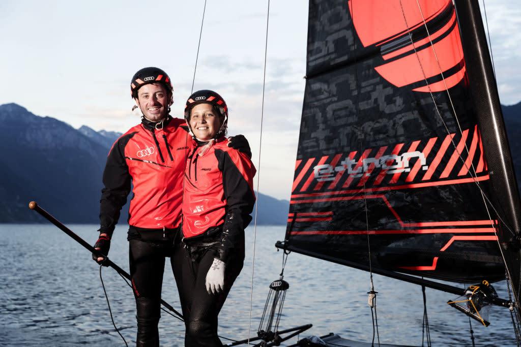宣傳電動概念,AUDI贊助Kieler Woche Regatta帆船賽事