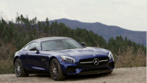 The Mercedes-AMG GT S Tackles Arizona's Legendary Route 191