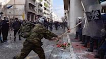 Greek Farmers Clash With Police Over New Reforms