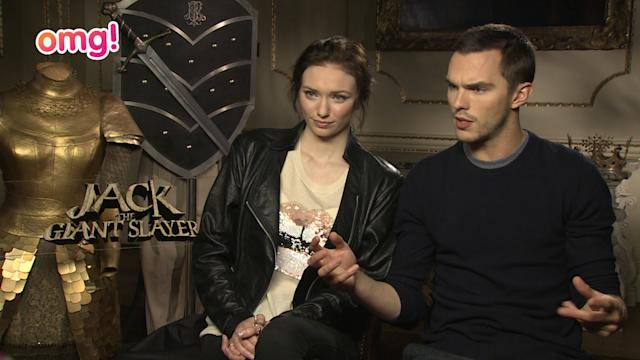 Nicholas Hoult's off to rescue the girl in Jack the Giant Slayer