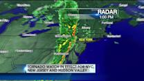 Tornado Watch In Effect For NYC, New Jersey