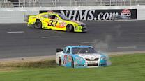 Late-race carnage in Loudon