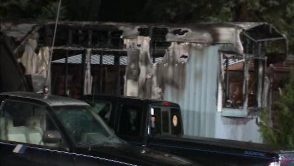 1 dead in Falls Township mobile home fire