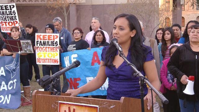 Immigrant activist prevents family's deportation