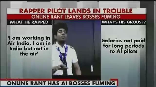 Air India pilot draws management ire as his rap video goes viral