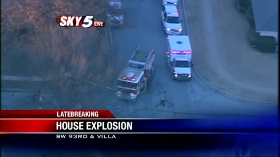 Witness describes natural gas explosion in OKC