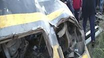 Raw: Deadly Train Derailment in Egypt
