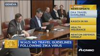 CNBC update: Zika travel guidelines