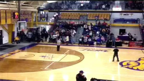 West Chester student will not get $10K halftime challenge prize