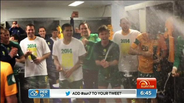 Socceroos punch World Cup ticket