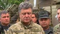Poroshenko's push for peace