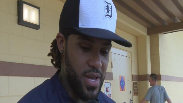 Fielder turns page on World Series, says he can't be