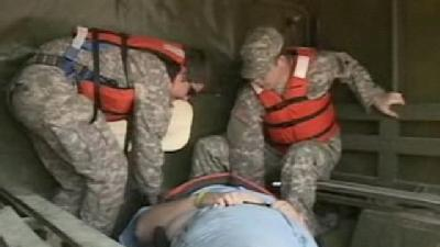 Emergency Crews Train For River Rescue