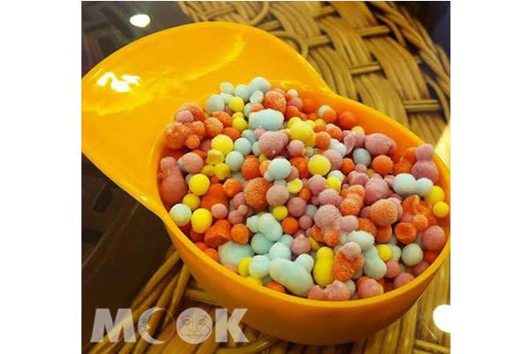 強調製作原料天然,大人小孩都能吃的開心。(圖片提供/Mini Melts粒粒冰淇淋)
