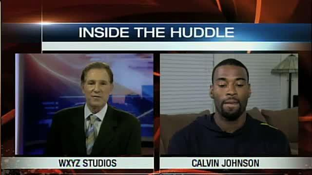 Inside the Huddle with Calvin Johnson