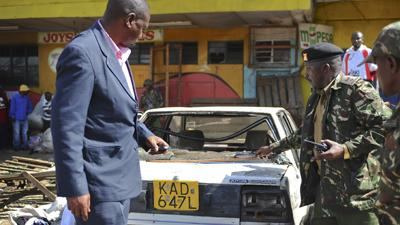 Raw: 10 Dead, 70 Wounded in Kenya Blasts