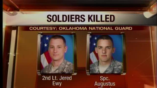 Oklahoma National Guard soldiers killed