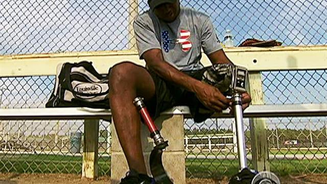 Veterans take the fight from battlefield to ball field