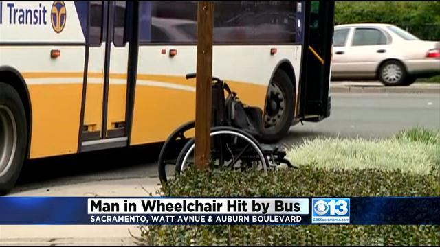 Man In Wheelchair Hit By RT Bus